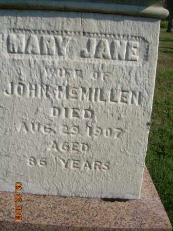 MCMILLEN, MARY JANE - Columbiana County, Ohio | MARY JANE MCMILLEN - Ohio Gravestone Photos