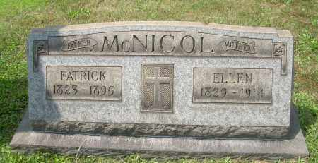 MCNICOL, PATRICK - Columbiana County, Ohio | PATRICK MCNICOL - Ohio Gravestone Photos