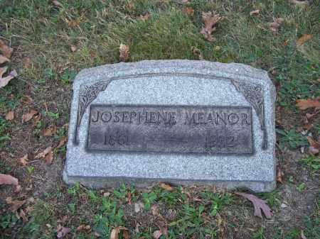 MEANOR, JOSEPHENE - Columbiana County, Ohio | JOSEPHENE MEANOR - Ohio Gravestone Photos