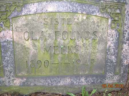 MEEKS, OLA - Columbiana County, Ohio | OLA MEEKS - Ohio Gravestone Photos