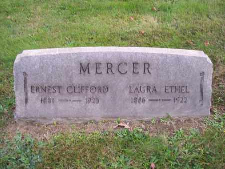 MERCER, ERNEST CLIFFORD - Columbiana County, Ohio | ERNEST CLIFFORD MERCER - Ohio Gravestone Photos