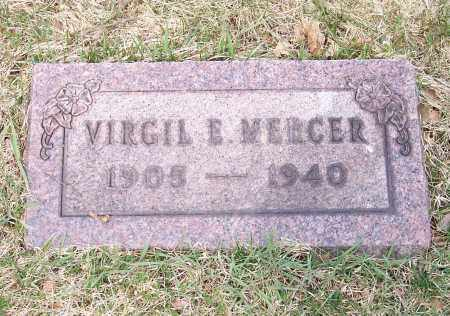 MERCER, VIRGIL E. - Columbiana County, Ohio | VIRGIL E. MERCER - Ohio Gravestone Photos