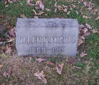MICHEL, HELEN K. - Columbiana County, Ohio | HELEN K. MICHEL - Ohio Gravestone Photos
