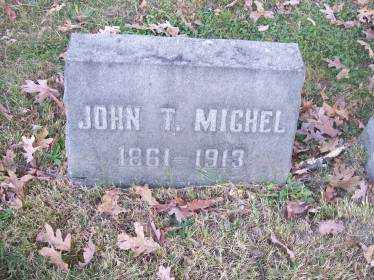 MICHEL, JOHN T. - Columbiana County, Ohio | JOHN T. MICHEL - Ohio Gravestone Photos