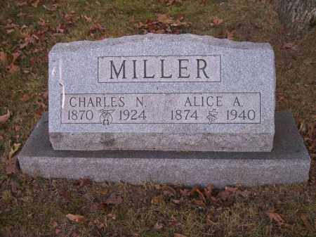 MILLER, ALICE A. - Columbiana County, Ohio | ALICE A. MILLER - Ohio Gravestone Photos