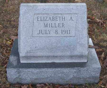 MILLER, ELIZABETH A. - Columbiana County, Ohio | ELIZABETH A. MILLER - Ohio Gravestone Photos