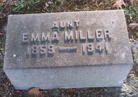MILLER, EMMA - Columbiana County, Ohio | EMMA MILLER - Ohio Gravestone Photos