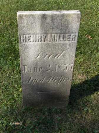 MILLER, HENRY - Columbiana County, Ohio | HENRY MILLER - Ohio Gravestone Photos