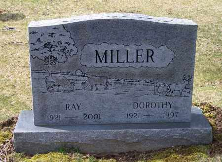 MILLER, RAY - Columbiana County, Ohio | RAY MILLER - Ohio Gravestone Photos