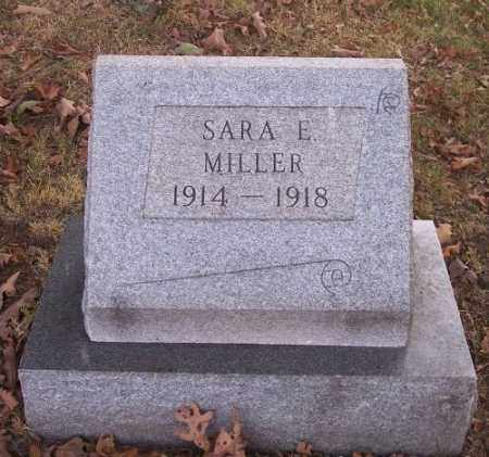 MILLER, SARA E. - Columbiana County, Ohio | SARA E. MILLER - Ohio Gravestone Photos