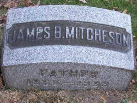 MITCHESON, JAMES B. - Columbiana County, Ohio | JAMES B. MITCHESON - Ohio Gravestone Photos