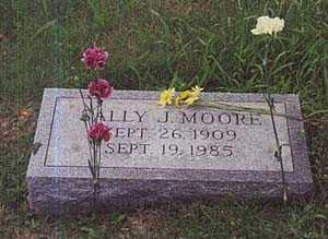 FARROW MOORE, SALLY - Columbiana County, Ohio | SALLY FARROW MOORE - Ohio Gravestone Photos