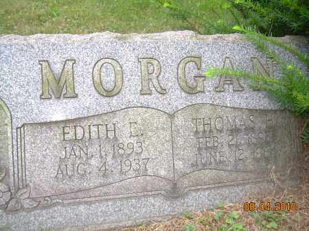 MORGAN, EDITH E - Columbiana County, Ohio | EDITH E MORGAN - Ohio Gravestone Photos