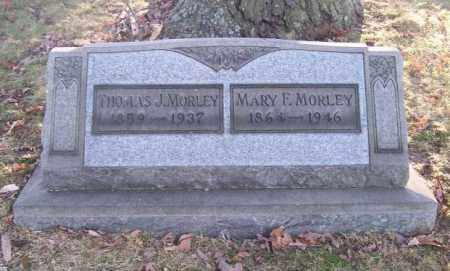 MORLEY, MARY F. - Columbiana County, Ohio | MARY F. MORLEY - Ohio Gravestone Photos