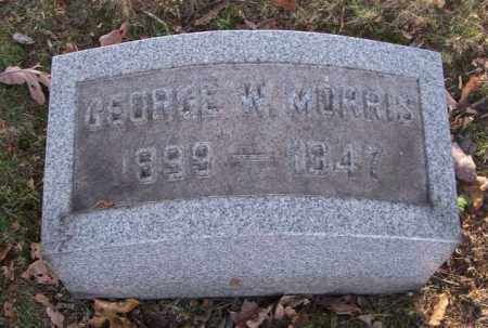 MORRIS, GEORGE W. - Columbiana County, Ohio | GEORGE W. MORRIS - Ohio Gravestone Photos