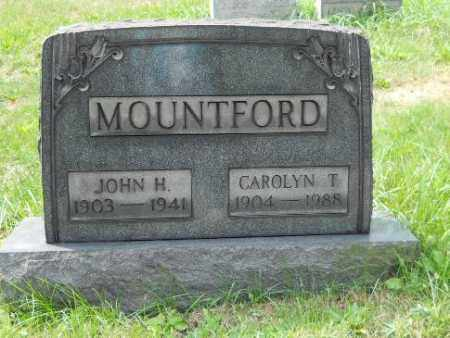 MOUNTFORD, CAROLYN T - Columbiana County, Ohio | CAROLYN T MOUNTFORD - Ohio Gravestone Photos