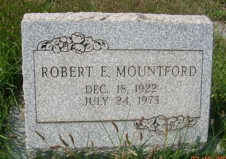 MOUNTFORD, ROBERT E - Columbiana County, Ohio | ROBERT E MOUNTFORD - Ohio Gravestone Photos