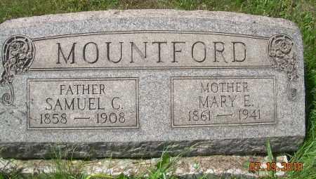 MOUNTFORD, MARY E - Columbiana County, Ohio | MARY E MOUNTFORD - Ohio Gravestone Photos