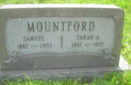 MOUNTFORD, SAMUEL - Columbiana County, Ohio | SAMUEL MOUNTFORD - Ohio Gravestone Photos