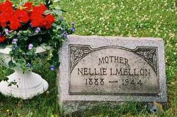 IRVING NELLIE, MELLON - Columbiana County, Ohio | MELLON IRVING NELLIE - Ohio Gravestone Photos