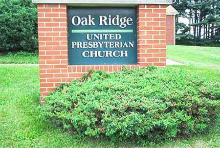 OAK RIDGE, UNITED PRESBYTERIAN CHURCH - Columbiana County, Ohio | UNITED PRESBYTERIAN CHURCH OAK RIDGE - Ohio Gravestone Photos