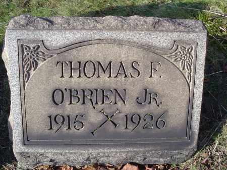 O'BRIEN, THOMAS FREDRICK JR - Columbiana County, Ohio | THOMAS FREDRICK JR O'BRIEN - Ohio Gravestone Photos