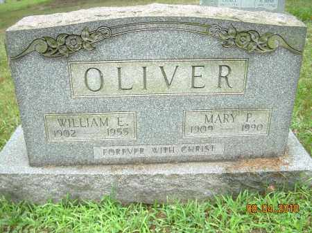 OLIVER, WILLIAM E - Columbiana County, Ohio | WILLIAM E OLIVER - Ohio Gravestone Photos