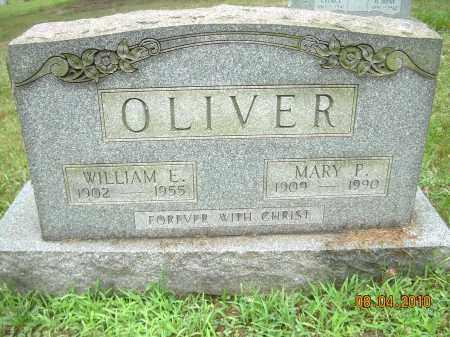 OLIVER, MARY P - Columbiana County, Ohio | MARY P OLIVER - Ohio Gravestone Photos
