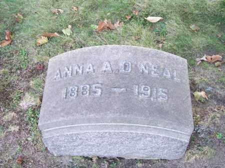 O'NEAL, ANNA A. - Columbiana County, Ohio | ANNA A. O'NEAL - Ohio Gravestone Photos