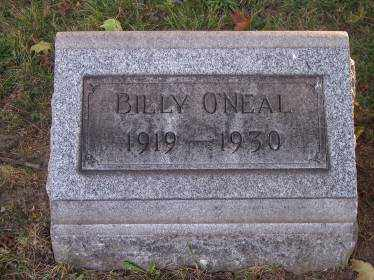 O'NEAL, BILLY - Columbiana County, Ohio | BILLY O'NEAL - Ohio Gravestone Photos