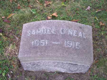 O'NEAL, SAMUEL - Columbiana County, Ohio | SAMUEL O'NEAL - Ohio Gravestone Photos