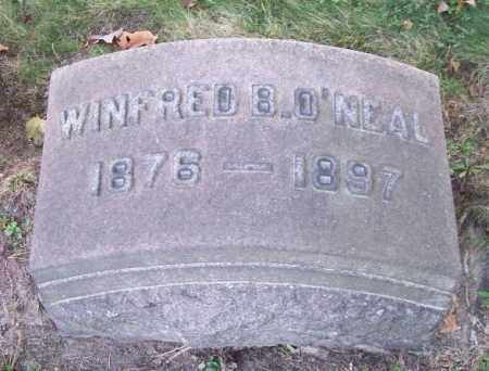 O'NEAL, WINFRED B. - Columbiana County, Ohio | WINFRED B. O'NEAL - Ohio Gravestone Photos