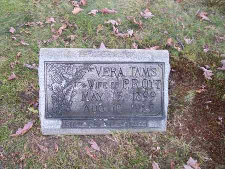 TAMS OTT, VERA - Columbiana County, Ohio | VERA TAMS OTT - Ohio Gravestone Photos