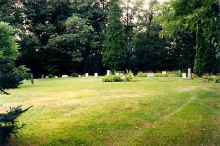 OVERVIEW, JACKMAN CEMETERY - Columbiana County, Ohio | JACKMAN CEMETERY OVERVIEW - Ohio Gravestone Photos