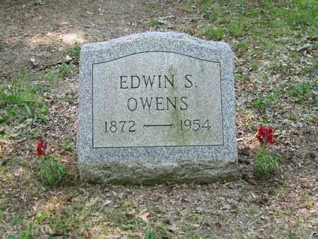OWENS, EDWIN SELWYN - Columbiana County, Ohio | EDWIN SELWYN OWENS - Ohio Gravestone Photos