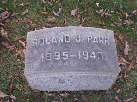 PARR, ROLAND J. - Columbiana County, Ohio | ROLAND J. PARR - Ohio Gravestone Photos
