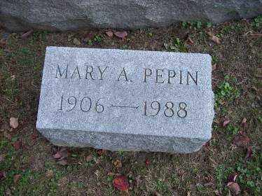 PEPIN, MARY A. - Columbiana County, Ohio | MARY A. PEPIN - Ohio Gravestone Photos