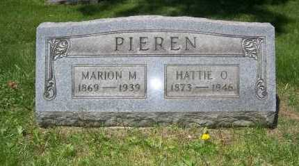 PIEREN, HATTIE - Columbiana County, Ohio | HATTIE PIEREN - Ohio Gravestone Photos