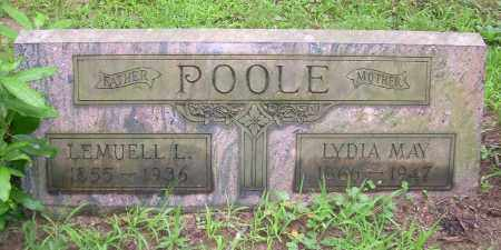 POOLE, LYDIA MAY - Columbiana County, Ohio | LYDIA MAY POOLE - Ohio Gravestone Photos