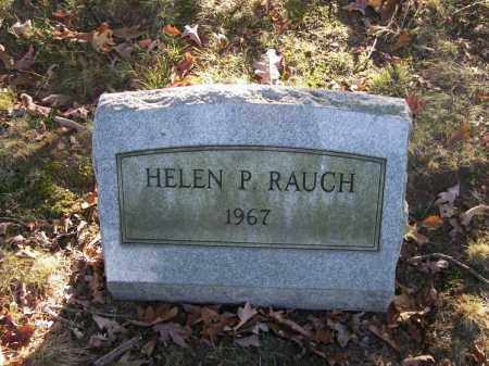 RAUCH, HELEN P. - Columbiana County, Ohio | HELEN P. RAUCH - Ohio Gravestone Photos