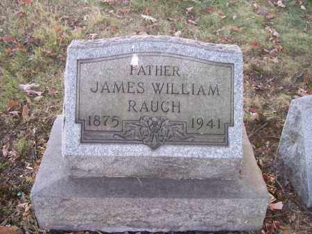 RAUCH, JAMES WILLIAM - Columbiana County, Ohio | JAMES WILLIAM RAUCH - Ohio Gravestone Photos