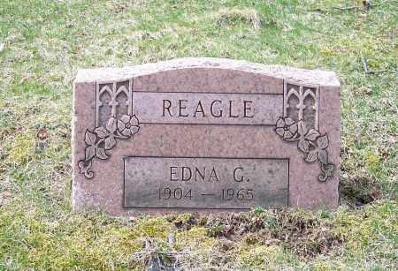 REAGLE, EDNA G. - Columbiana County, Ohio | EDNA G. REAGLE - Ohio Gravestone Photos