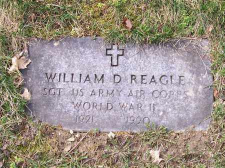 REAGLE, WILLIAM D. - Columbiana County, Ohio | WILLIAM D. REAGLE - Ohio Gravestone Photos