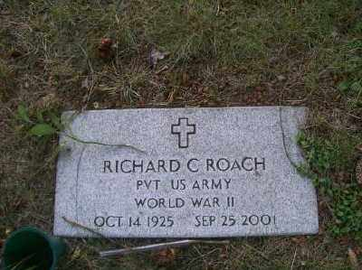 RICHARD C., ROACH - Columbiana County, Ohio | ROACH RICHARD C. - Ohio Gravestone Photos