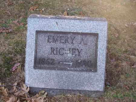 RICHEY, EMERY A. - Columbiana County, Ohio | EMERY A. RICHEY - Ohio Gravestone Photos