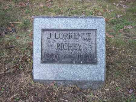 RICHEY, J. LORRENCE - Columbiana County, Ohio | J. LORRENCE RICHEY - Ohio Gravestone Photos