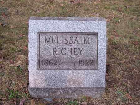 RICHEY, MELISSA M. - Columbiana County, Ohio | MELISSA M. RICHEY - Ohio Gravestone Photos