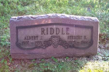 RIDDLE, HERBERT H. - Columbiana County, Ohio | HERBERT H. RIDDLE - Ohio Gravestone Photos