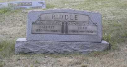 RIDDLE, ISIAH - Columbiana County, Ohio | ISIAH RIDDLE - Ohio Gravestone Photos