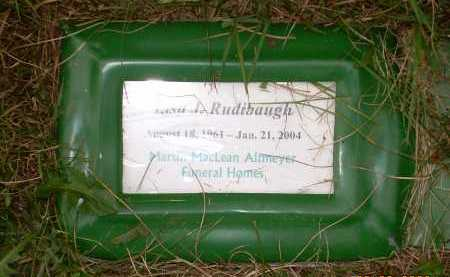 RUDIBAUGH, LISA - Columbiana County, Ohio | LISA RUDIBAUGH - Ohio Gravestone Photos